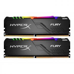 Kingston HyperX Furry 32GB - 16GB x2 DDR4 PC2666 RGB